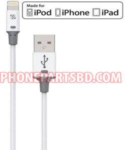 Scosche 3 Ft Charge & Sync Cable for Lightning USB Devices