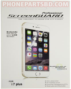 Buy iPhone 7 Plus Clear Screen Protector in Bangladesh